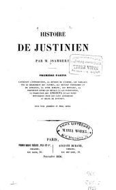 Histoire de Justinien: Partie1