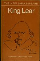 The Works of Shakespeare king Lear PDF