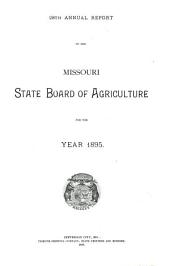 The Missouri Yearbook of Agriculture: Annual Report, Volume 28