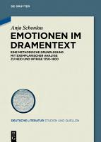 Emotionen im Dramentext PDF