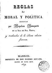 Reglas de moral y política