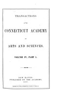 Transactions of the Connecticut Academy of Arts and Sciences PDF