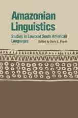 Amazonian Linguistics PDF