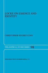 Locke on Essence and Identity PDF