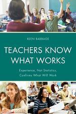 Teachers Know What Works