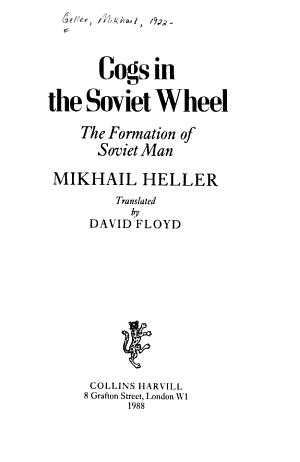 Cogs in the Soviet Wheel PDF
