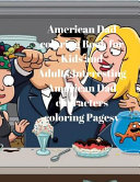 American Dad Coloring Book for Kids and Adults