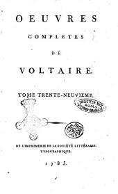 Oeuvres completes de Voltaire. Tome premier [-quatre-vingt-douzieme]: °Philosophie de Newton. Tome 2.!, Volume39