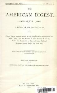 The American Digest PDF