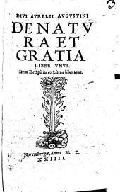 De Natura Et Gratia