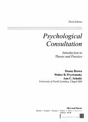 Psychological Consultation PDF