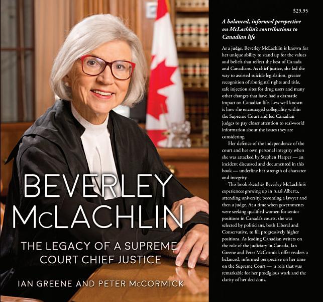 Download Beverley McLachlin Book
