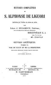Oeuvres complètes de S. Alphonse De Liguori