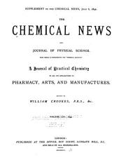 The Chemical News and Journal of Physical Science: Volumes 65-66