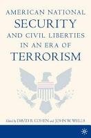 American National Security and Civil Liberties in an Era of Terrorism PDF