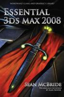 Essential 3ds max 2008 PDF