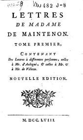 Lettres: Volume1