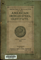 Bulletin of the American Iron and Steel Institute PDF