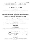 A Topographical Dictionary of England...