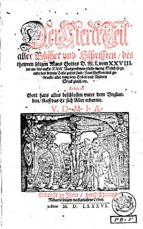 Aller B  cher und Schrifften des     D  Mart  Lutheri     PDF