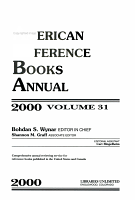 American Reference Books Annual 2000 PDF