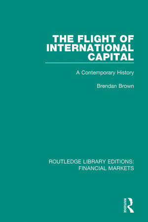The Flight of International Capital PDF