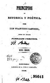 Principios de retorica y poética