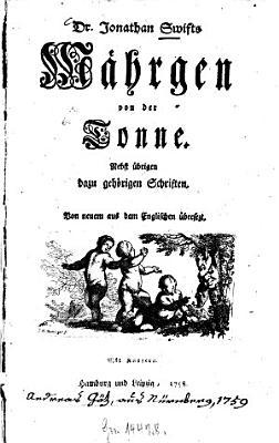 Jonathan Swifts M  hrgen von der Tonne PDF