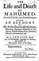 The Life and Death of Mahumed  Etc PDF