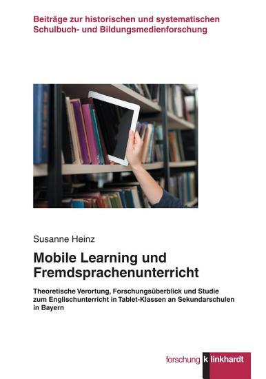 Mobile Learning und Fremdsprachenunterricht PDF