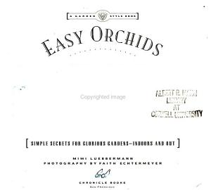 Easy Orchids PDF