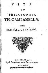 Vita et philosophia Th. Campanellae