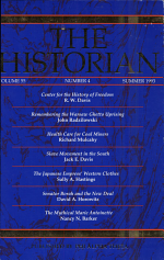 THE HISTORIAN VOL. 55 NUMBER 4