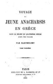 Voyage du jeune Anacharsis en Grèce: Volume 3