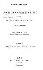 Grammar of the German language: Band 2