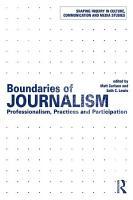 Boundaries of Journalism PDF
