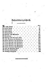 Handbuch für Prediger: zur praktischen Behandlung der Sonn- und Festtäglichen Evangelien, Band 1,Ausgabe 1