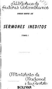 Sermones ineditos  Figures de la pasion  Panegiricos PDF