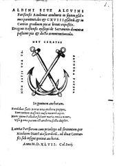 In septem Psalmos poenitentiales expositio