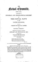 The Naval Chronicle  Containing a General and Biographical History of the Royal Navy of the United Kingdom  with a Variety of Original Papers on Nautical Subjects PDF