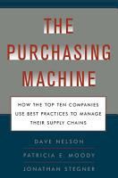 The Purchasing Machine PDF