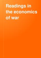 Readings in the Economics of War PDF