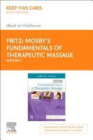 Mosby s Fundamentals of Therapeutic Massage   E Book PDF