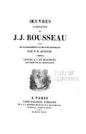 Oeuvres complètes de J.J. Rousseau: Volume7