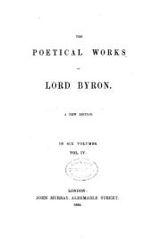 The poetical works of Lord Byron: Volume 4