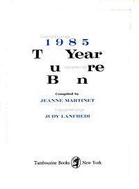 The Year You Were Born, 1985