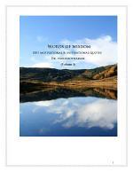 Words of Wisdom (Volume 3)