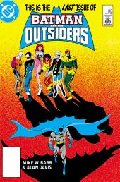Batman and the Outsiders (1983-) #32