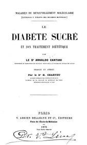 Le diabète sucré et son traitement diététique