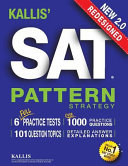 Kallis  Redesigned Sat Pattern Strategy   6 Full Length Practice Tests PDF